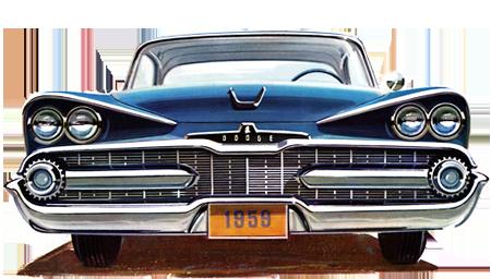 1959-Dodge auf dem Big Bumper Meet in Oldenburg